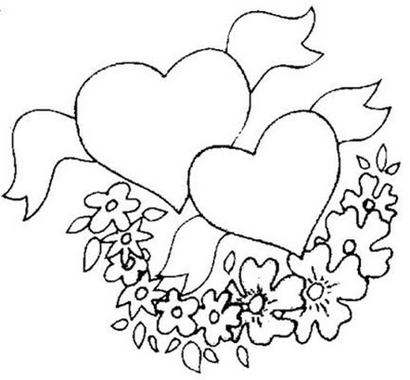 Black n white heart tattoo clip art
