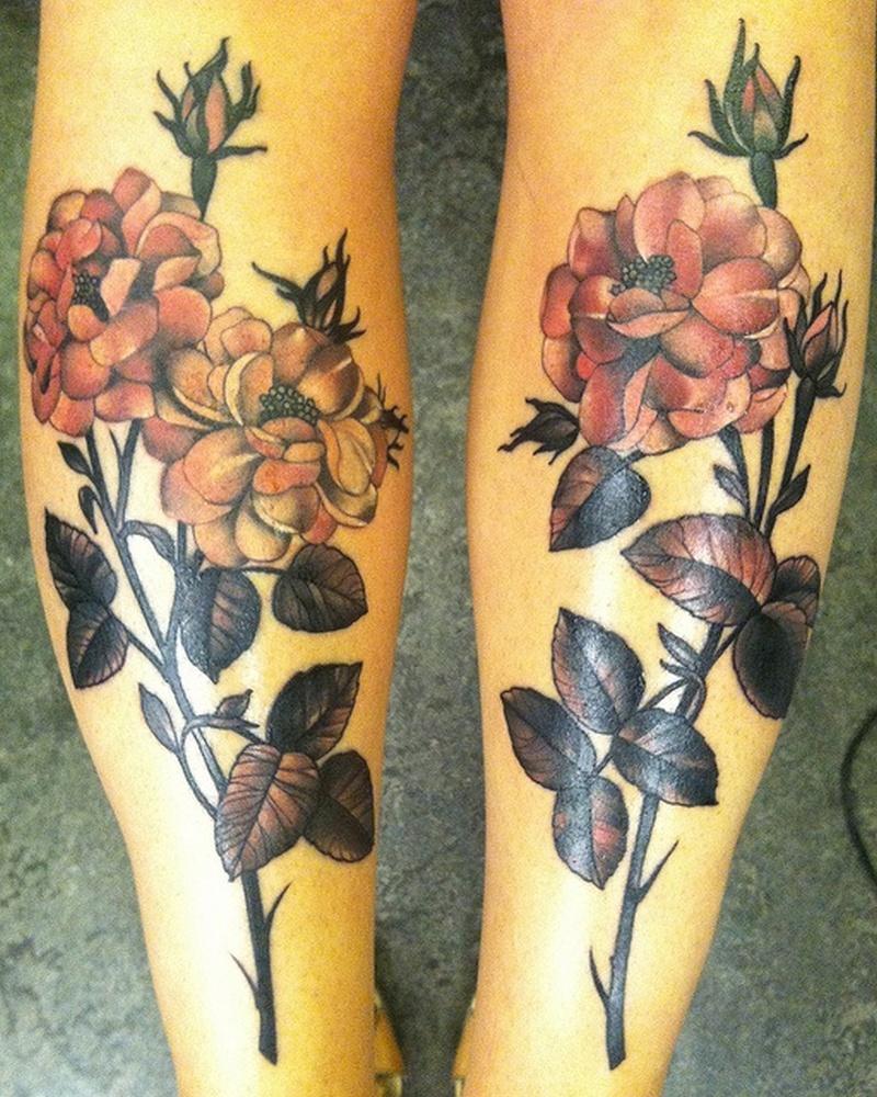 black nd pink flower tattoo design tattoos book tattoos designs. Black Bedroom Furniture Sets. Home Design Ideas