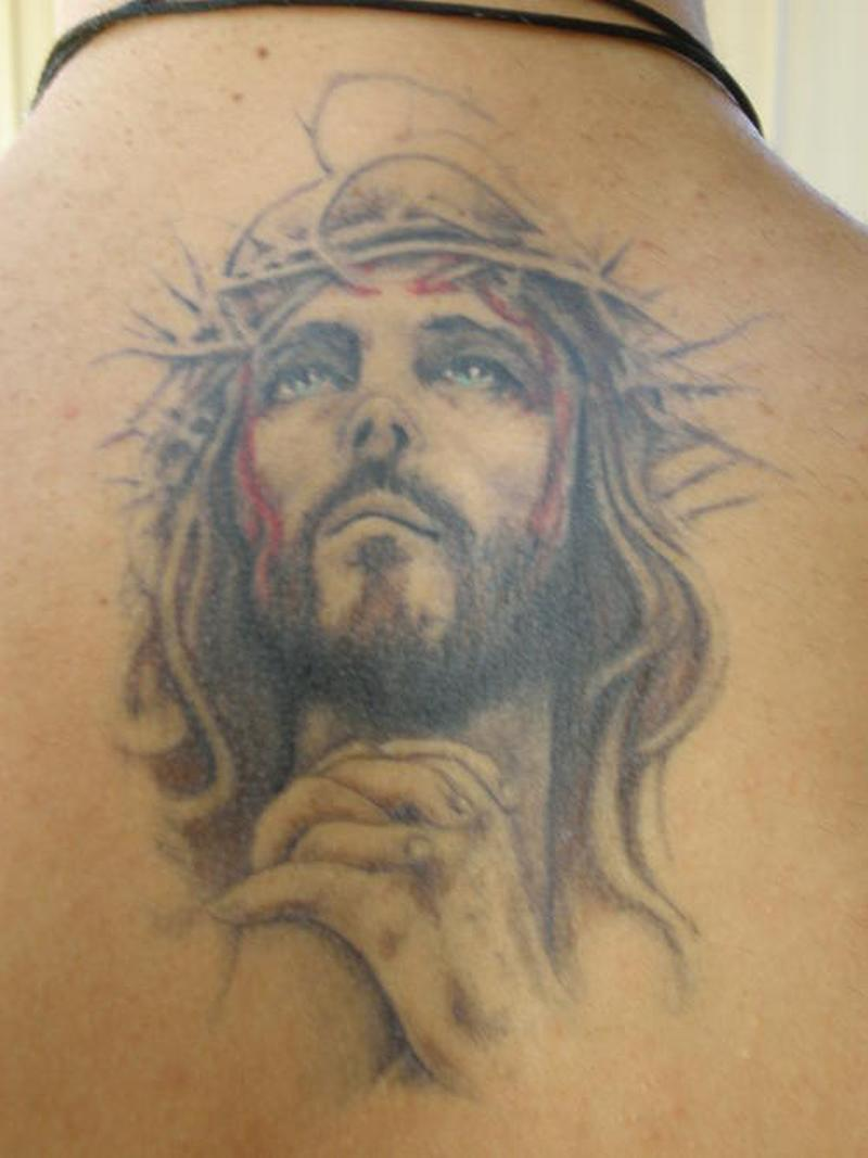 tatoo pictures of jesus. Black Bedroom Furniture Sets. Home Design Ideas