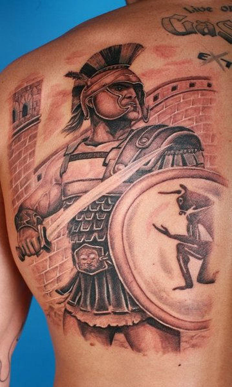 f67df7e8f Brilliant aztec warrior tattoo design 2 - Tattoos Book - 65.000 ...