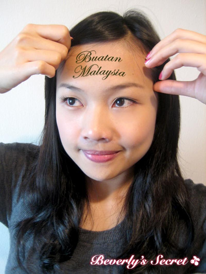 Buatan malaysia forehead tattoo