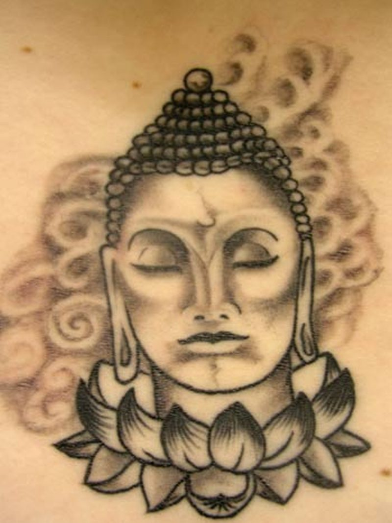 Buddha Head Lotus Tattoo Design Tattoos Book 65000 Tattoos Designs