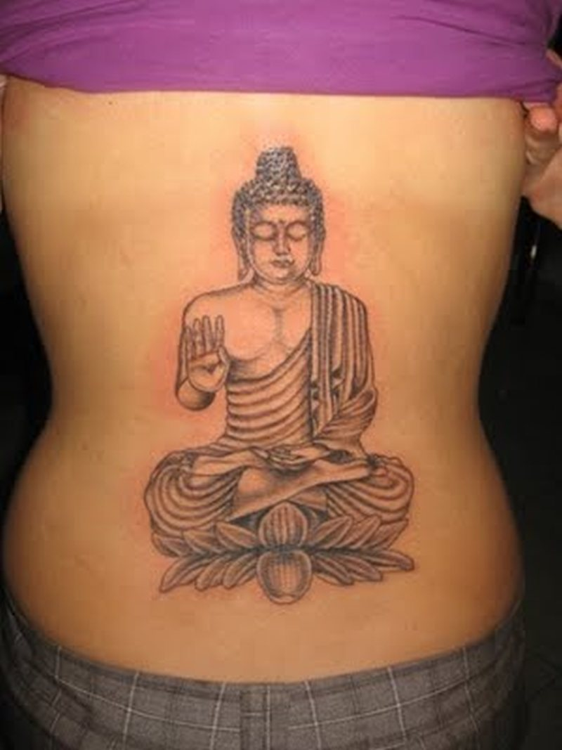8baa32334a7d2 Buddha lower back tattoo design - Tattoos Book - 65.000 Tattoos Designs