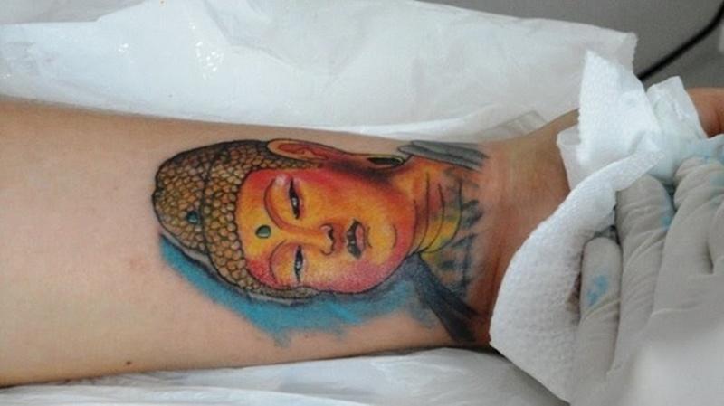 3555ef63fcafb Buddha tattoo on wrist - Tattoos Book - 65.000 Tattoos Designs