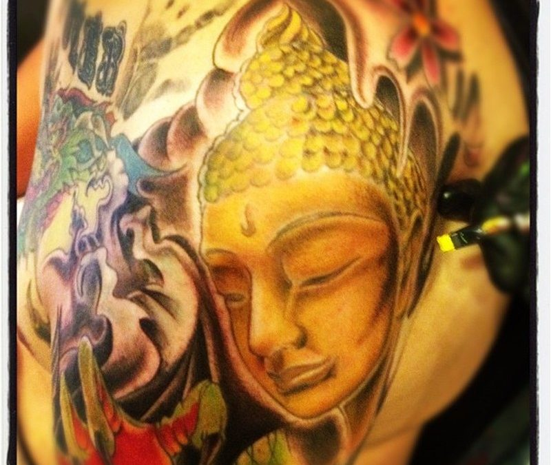 Buddhist tattoo picture