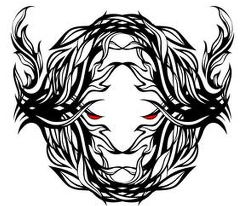 Bull tattoo a masculine symbol