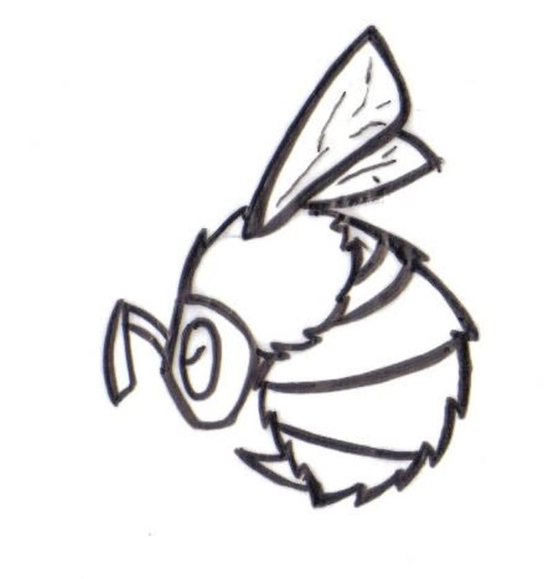 Bumblebee tattoo samples