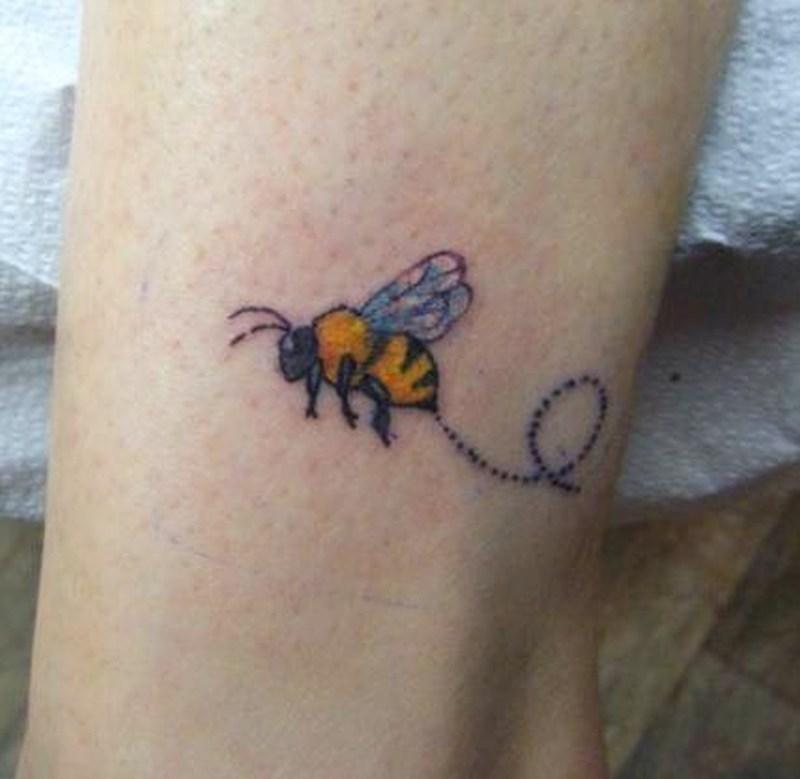 Bumblebee tattoos by tattoostimecom