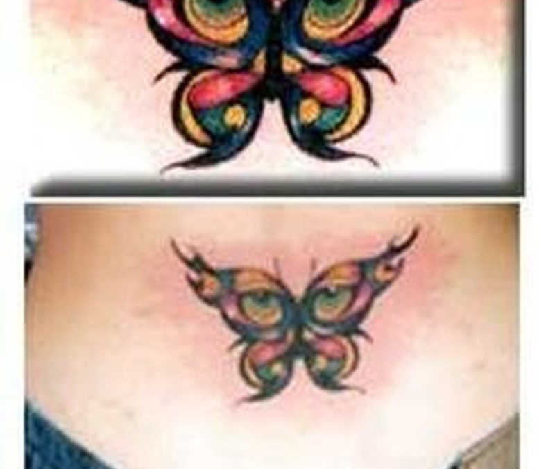 Butterfly eyes tattoo image