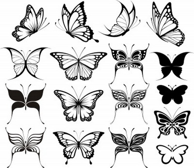 Butterfly tattoo designs for women 2