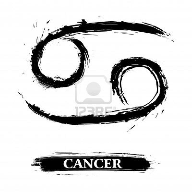Cancer symbol tattoo design