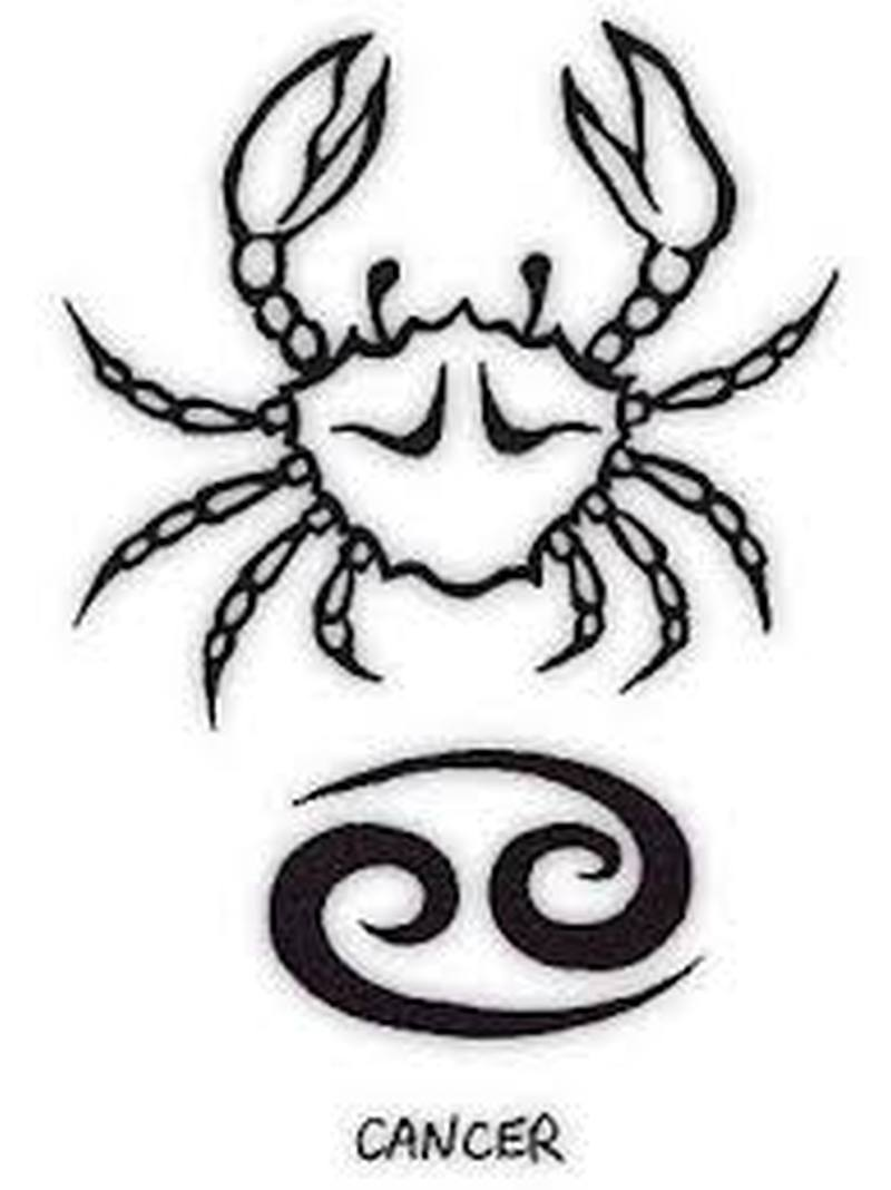 Cancer tattoo design 5