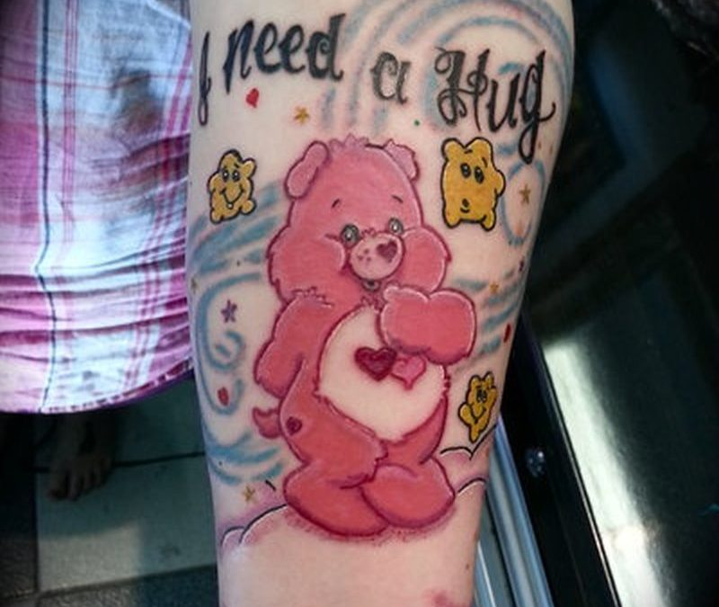 Care bear tattoo design