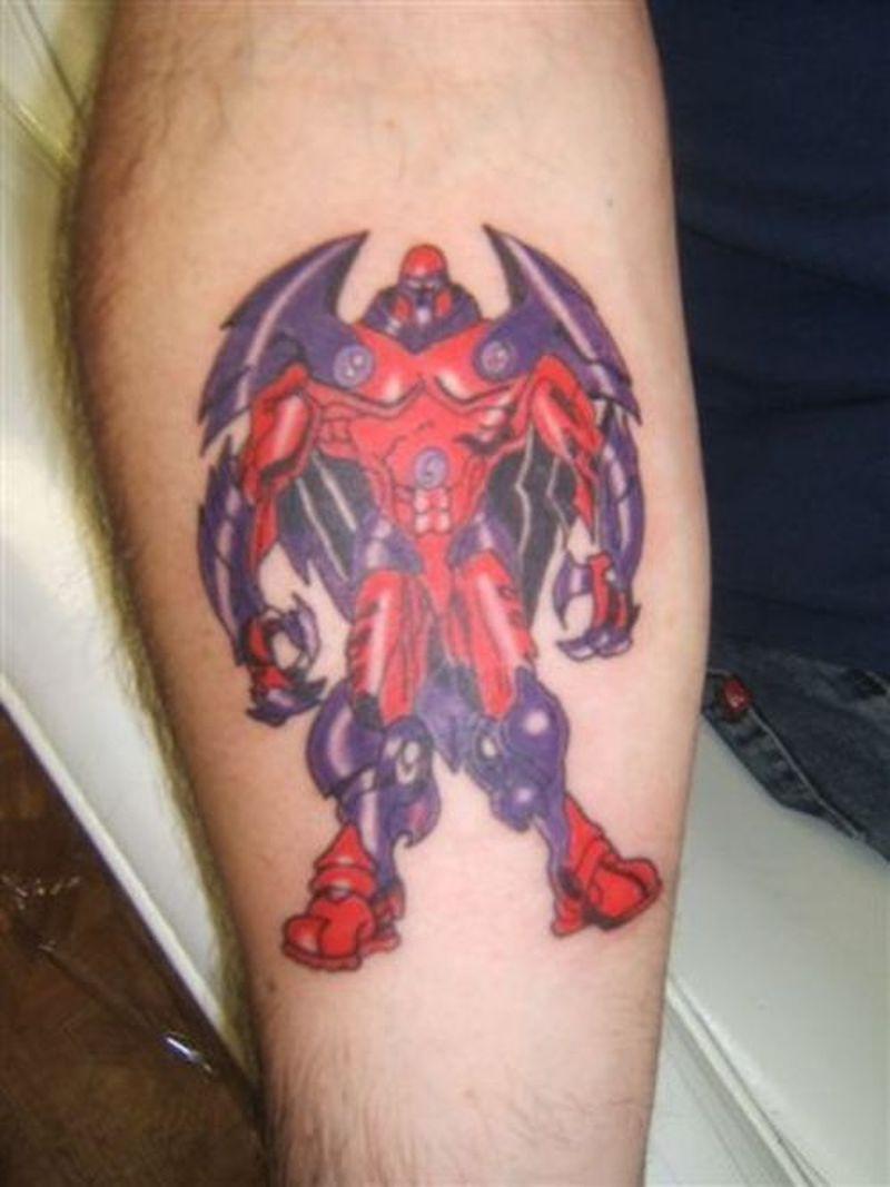 Cartoon tattoo for men