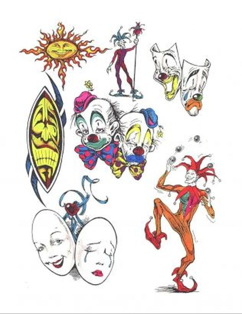 Cartoon tattoo gallery