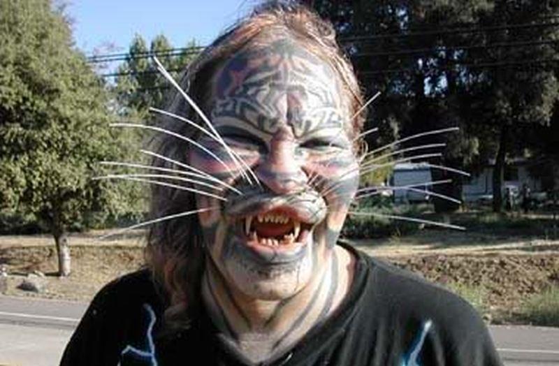 cat woman face tattoo design tattoos book