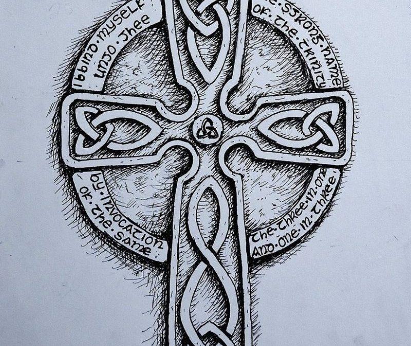 Celtic cross tattoo design 6