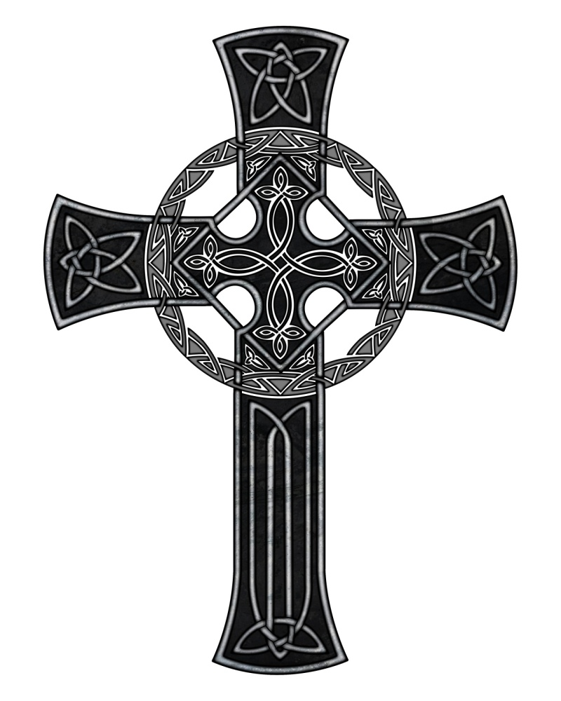 Celtic cross tattoo sample 3