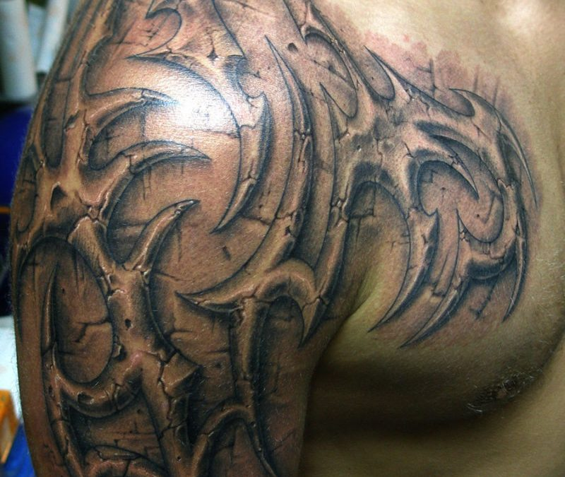 Celtic half sleeve tattoo design for men