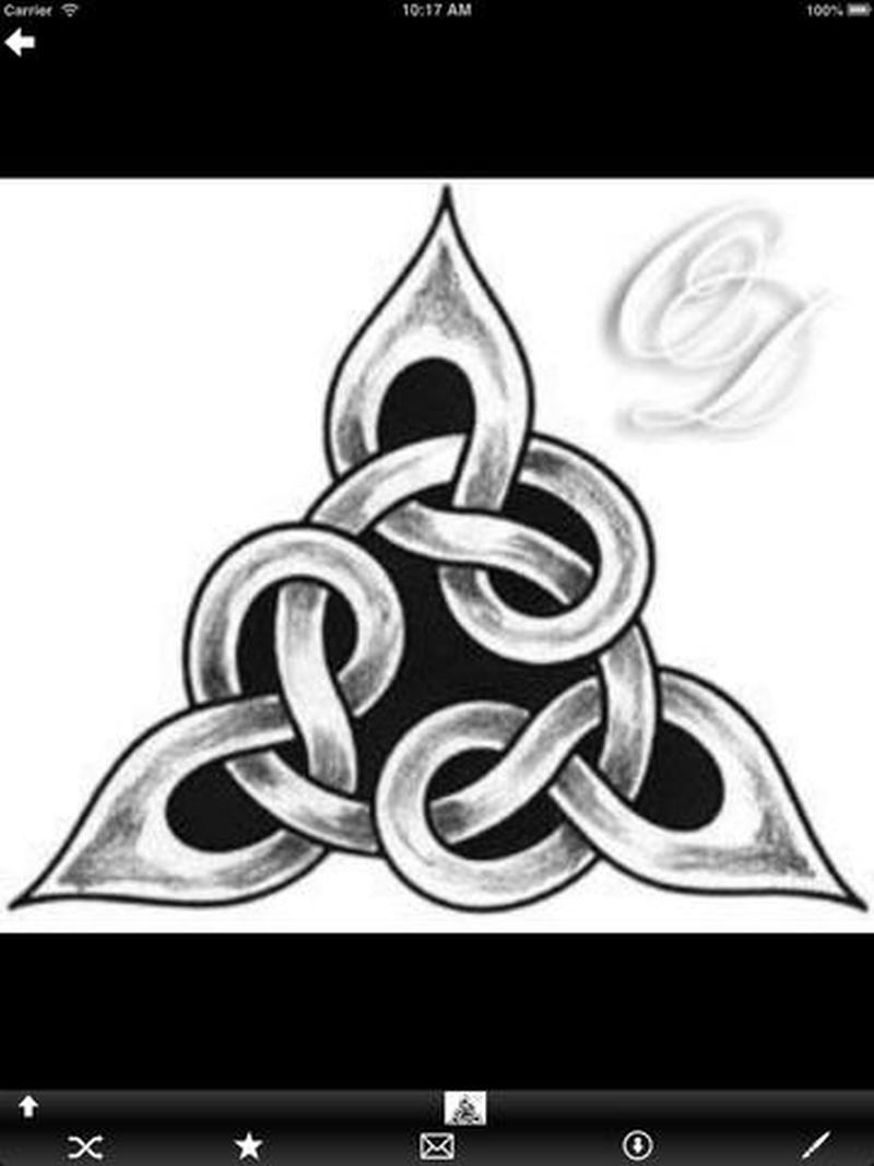 Celtic symbol tattoo picture