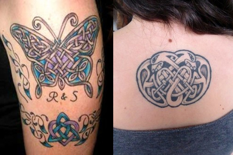 Celtic tattoo designs for women