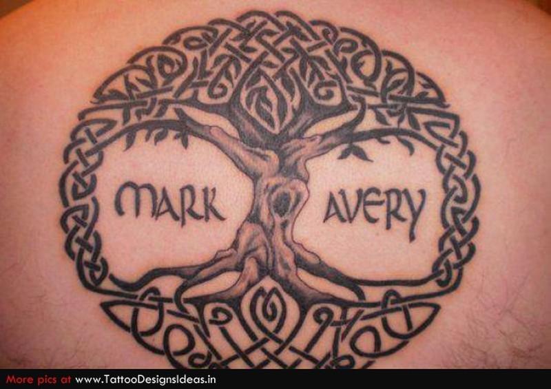 celtic tree of life circle tattoo tattoos book. Black Bedroom Furniture Sets. Home Design Ideas