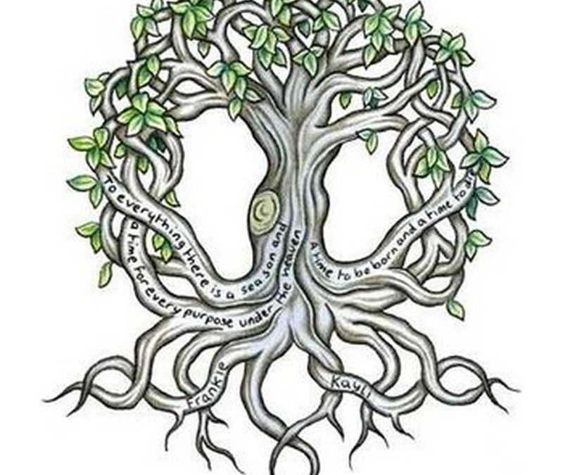 Celtic tree tattoo design 2