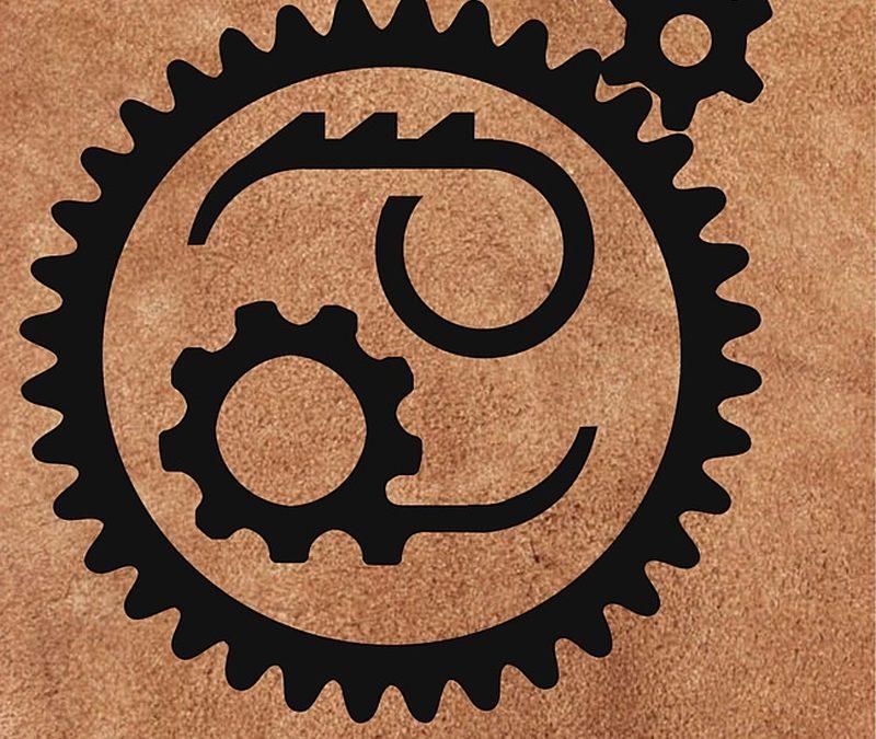 Chain set cancer tattoo design