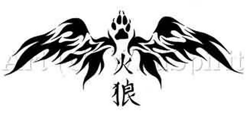 Chinese Symbol Nd Fire Tattoo Design Tattoos Book 65000 Tattoos