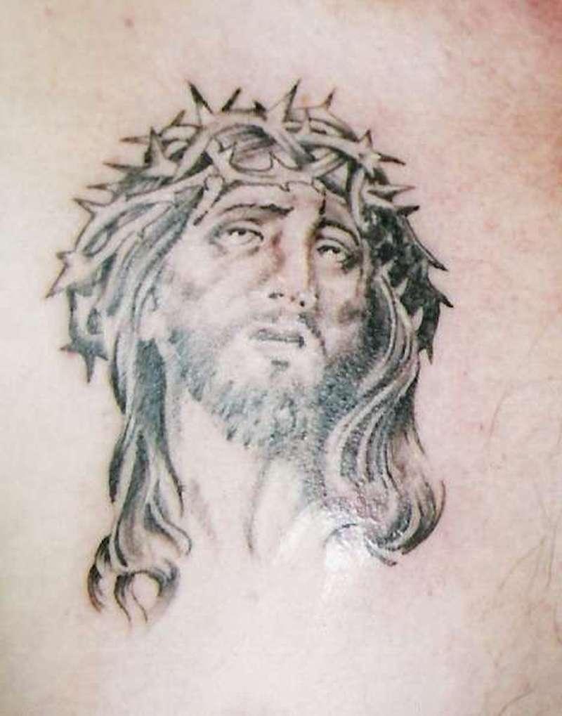 Christian jesus tattoo 2