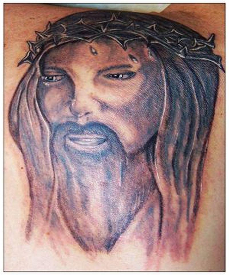 Christian jesus tattoo image 2