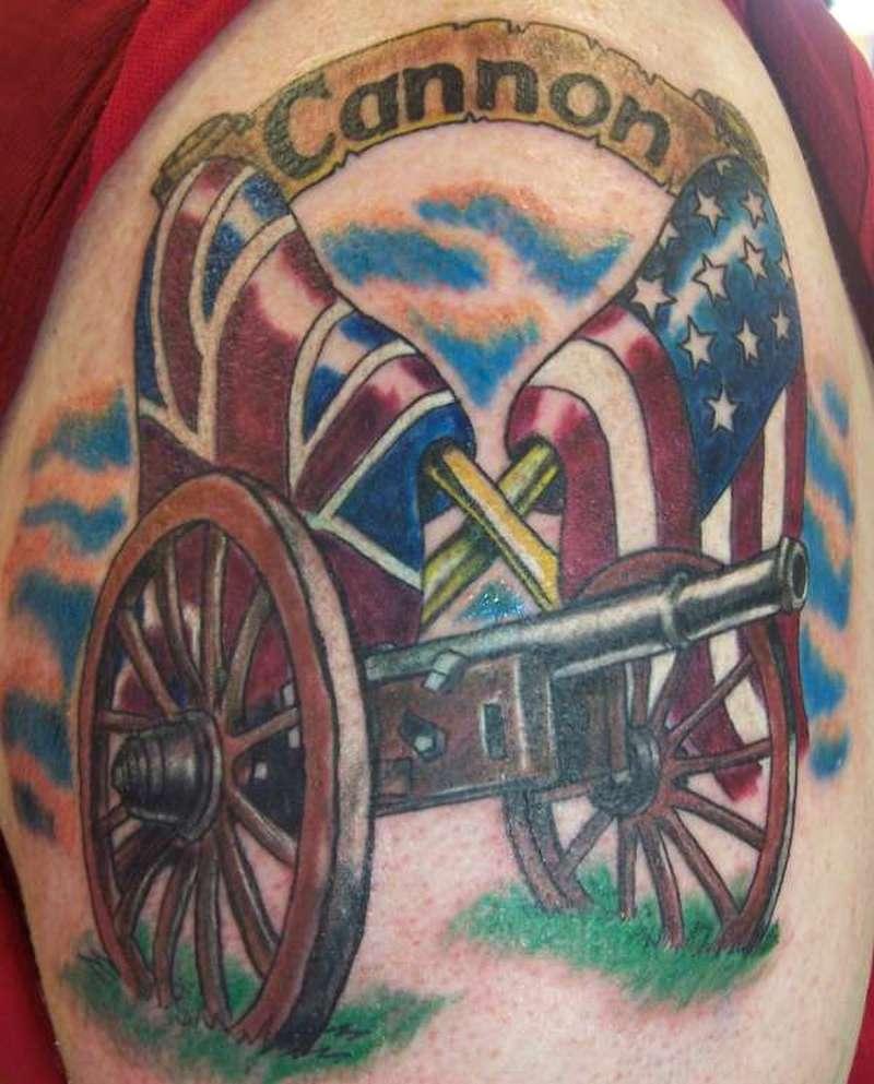 Confederate flag tattoo picture