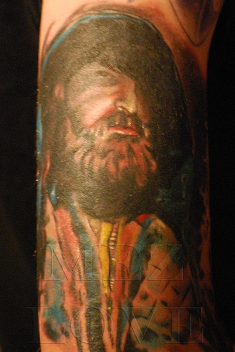 Cool horror tattoo image