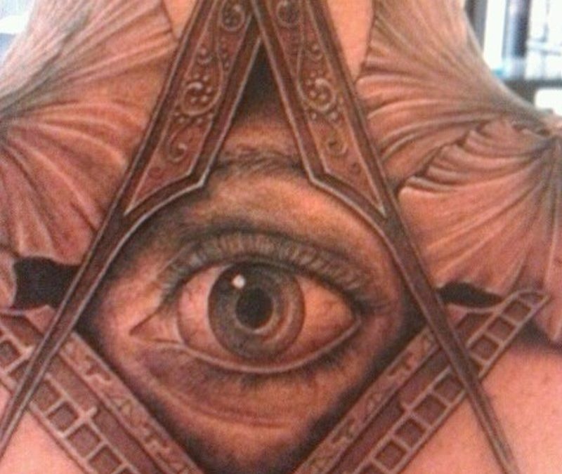 Cool third eye tattoo design