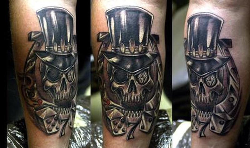 cowboy skull with hat tattoo design tattoos book tattoos designs. Black Bedroom Furniture Sets. Home Design Ideas