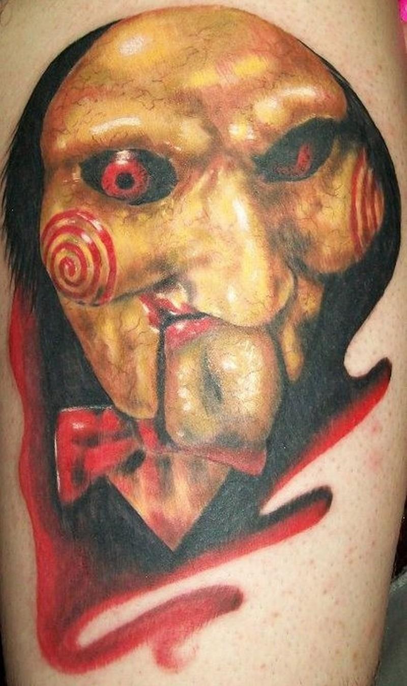 Creepy twin peaks movie horror tattoo