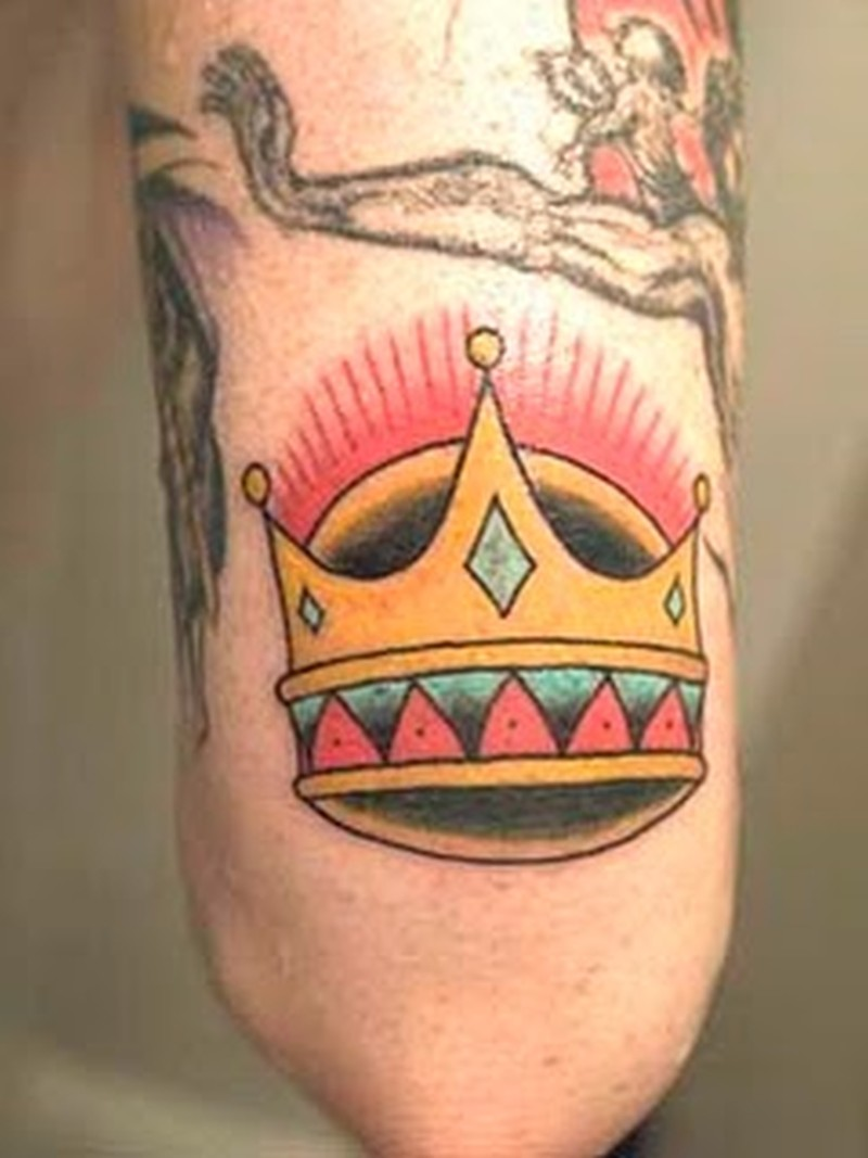 Color Crown Tattoos