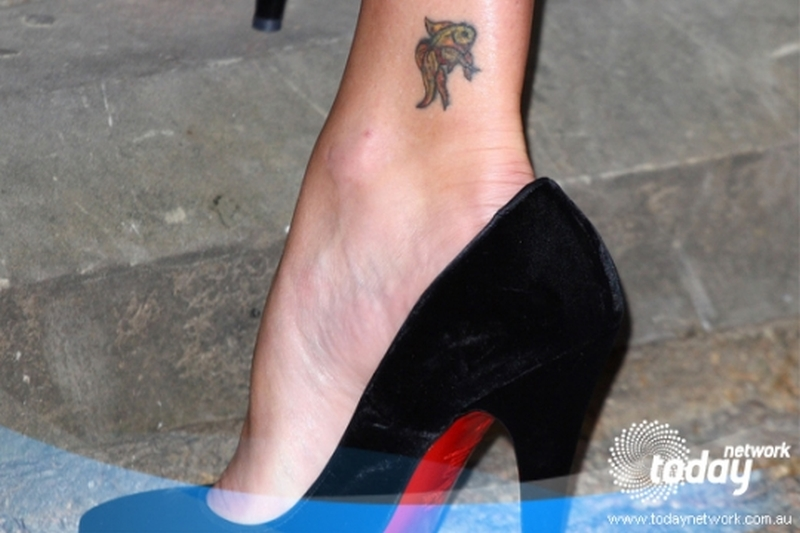 Cute ankle tattoo