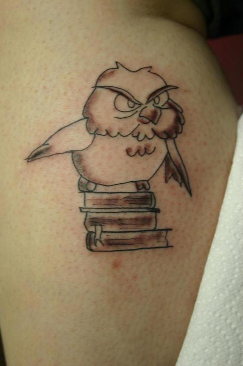 Cute baby owl tattoo design tattoos book for Cute baby tattoos