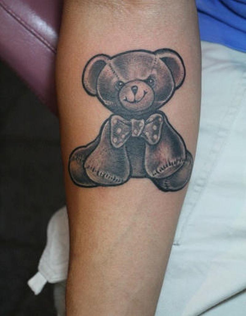 0f8e2b76a Cute teddy bear tattoo on arm - Tattoos Book - 65.000 Tattoos Designs