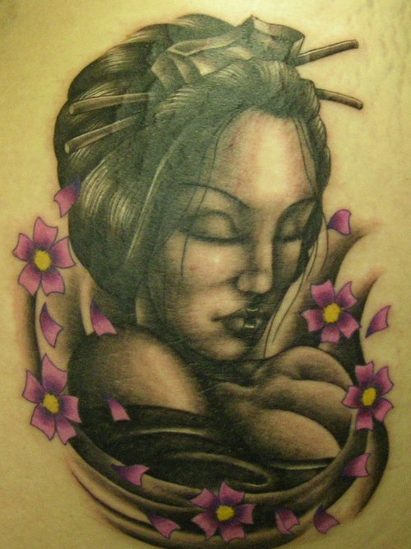 e96f3648c Dark geisha tattoo design - Tattoos Book - 65.000 Tattoos Designs