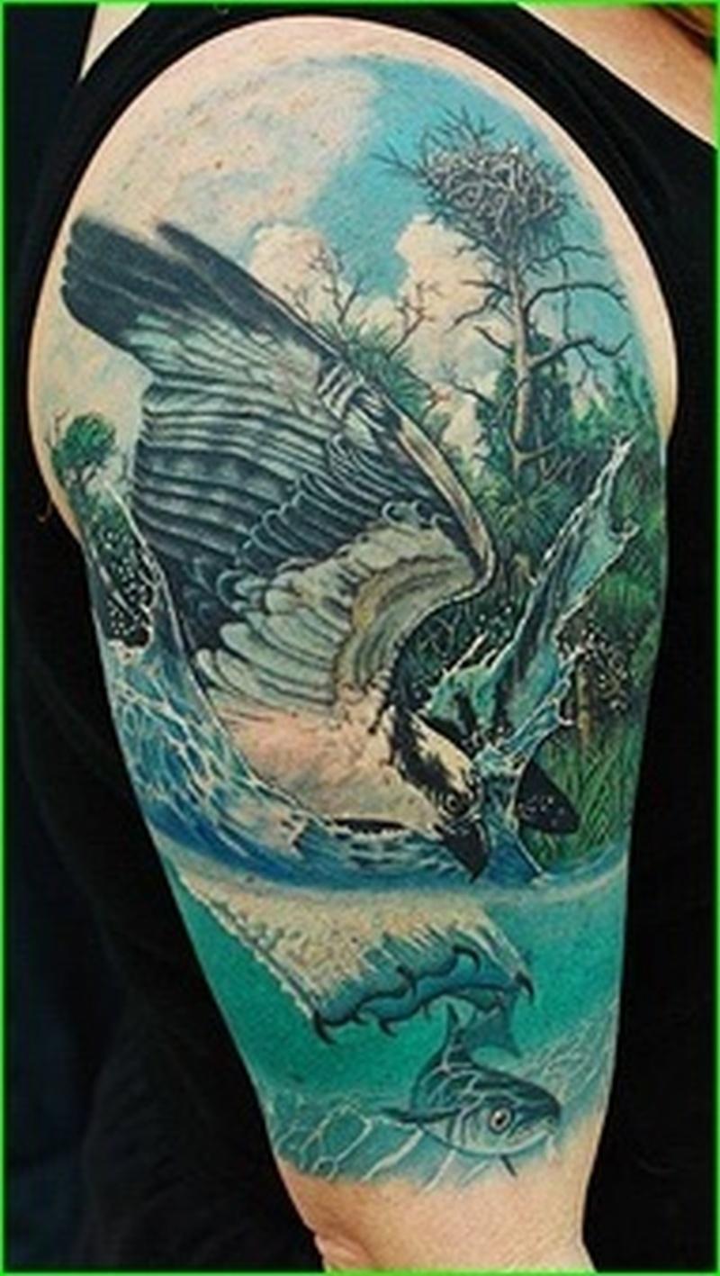 Deano cook half sleeve tattoo design