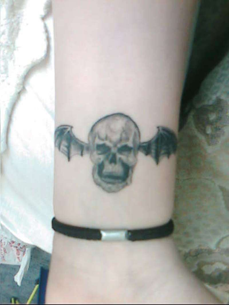 deathbat tattoo on wrist tattoos book tattoos designs. Black Bedroom Furniture Sets. Home Design Ideas