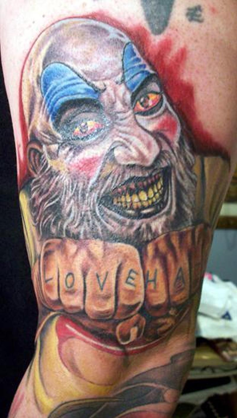 Devils Rejects Horror Tattoo Design Tattoos Book 65 000 Tattoos