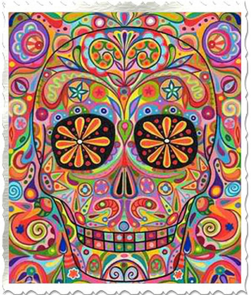 Dia de los muertos tattoo art 4