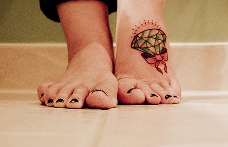 Фото тату на ноге современные идеи