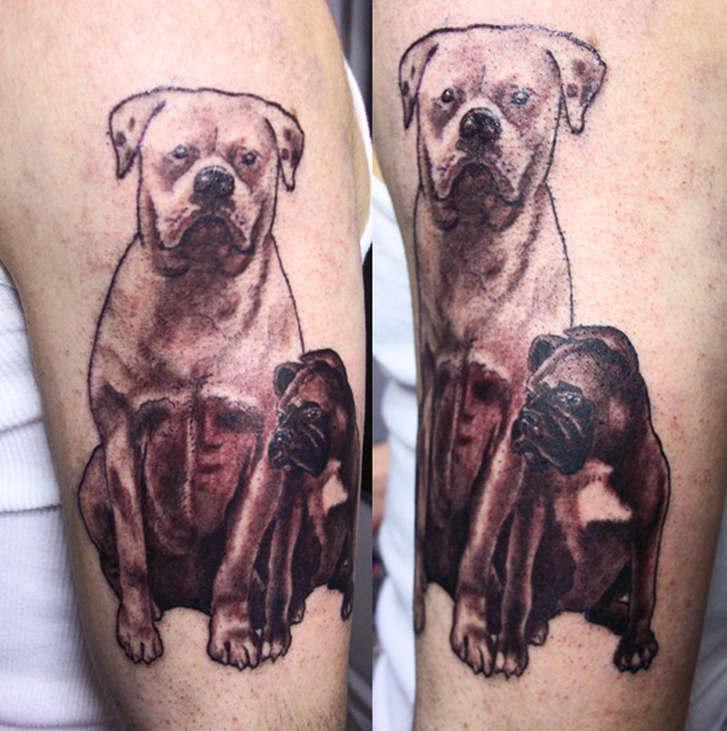 Dog tattoo designs