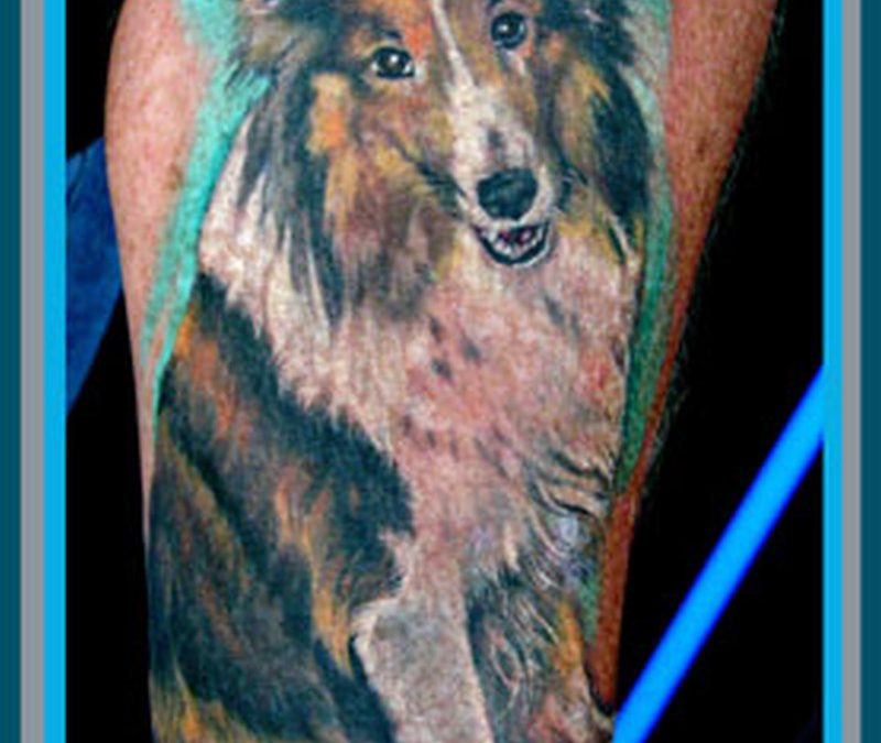 Dog tattoo picture 3