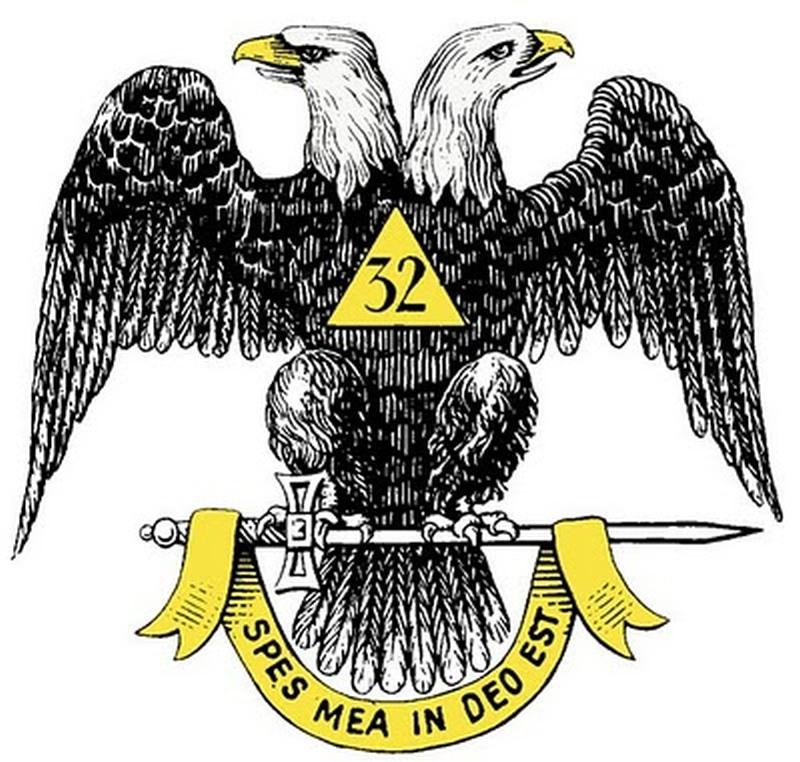 Double headed eagle tattoo design