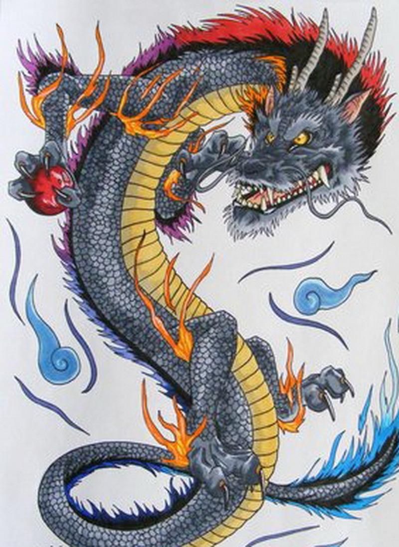 dragon japanese tattoo design tattoos book 65000